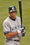 Alex Rodriguez Baseball Player